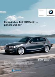 Automobile Bavaria – BMW Seria 1 prin BtB Advertising