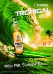 Exclusiv in Romania, URBB a lansat Tuborg Tropical