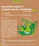 Alexandria candideaza la titlul de Capitala Verde a Romaniei