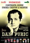 """Premiera Festivalul Artelor Bucuresti  – Dan Puric  """"Conferinta despre iubirea crestina si martiri"""""""