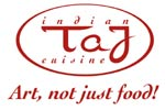 Art, not just food! Restaurant TAJ