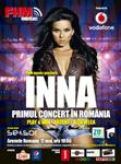 Primul concert Inna in Romania, organizat de FHM