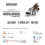 """""""Pianul Calator"""" la Sala Radio din Bucuresti"""