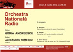 Alexandru Tomescu si Horia Andreescu in concert la Sala Radio