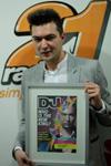 Liviu Hodor, pe coperta revistei DJ Mag chiar de ziua lui