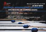 Emmanuel Sejourné si Orchestra de Camera Radio in Festivalul International de Vibrafon
