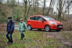 'Child-Proofing' the New Ford B-MAX; Mud, Milk and Fizzy Drink Tests