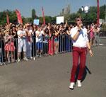 Tudor Turcu, la auditiile X Factor din Bucuresti
