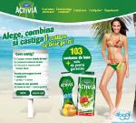 "Danone lanseaza campania ""Vara Activia"""