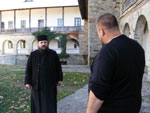 "Cristian Tabara viziteaza cetatea Neamtului, la ""Exclusiv in Romania"""
