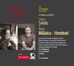 Scriitorii, despre dragoste: Corina Sabau si Marin Malaicu – Hondrari