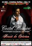 Costel Busuioc, concert de Craciun la Bucuresti