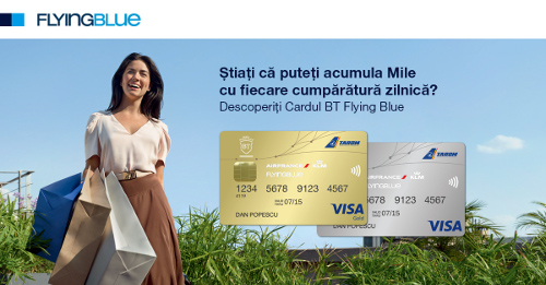 Banca Transilvania card Flying Blue