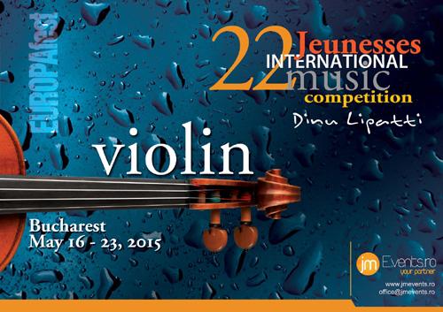 EUROPAfest 2016 lanseaza primul eveniment Jeunesses International Music Competition Dinu Lipatti