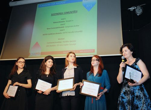 Romanian CSR Awards 2015 si-a desemnat castigatorii