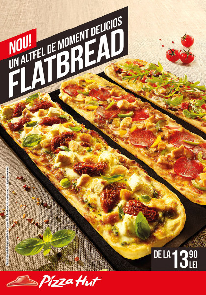 Pizza Hut Flatbread