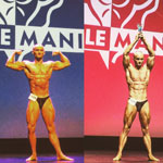 Valentin Bosioc – campion Musclemania Paris & vicecampion national la culturism clasic