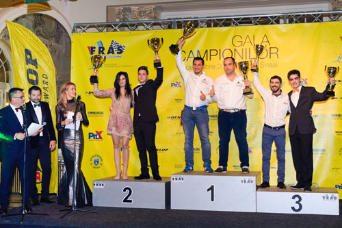 Componentii echipei Shark Racing au fost premiati la Gala Campionilor 2015