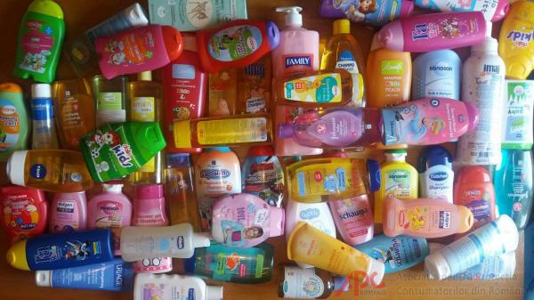 Studiu privind calitatea șampoanelor destinate bebelușilor și copiilor