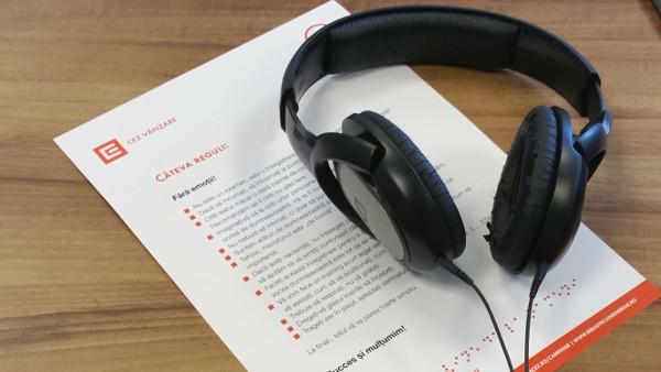"""Angajații Grupului CEZ în România au înregistrat primul audiobook din """"Biblioteca de energie"""""""