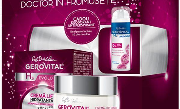 Gerovital își menține poziția de lider de piață pe segmentul antirid, cu vânzări în creștere cu peste 10% la gama Gerovital H3 Evolution