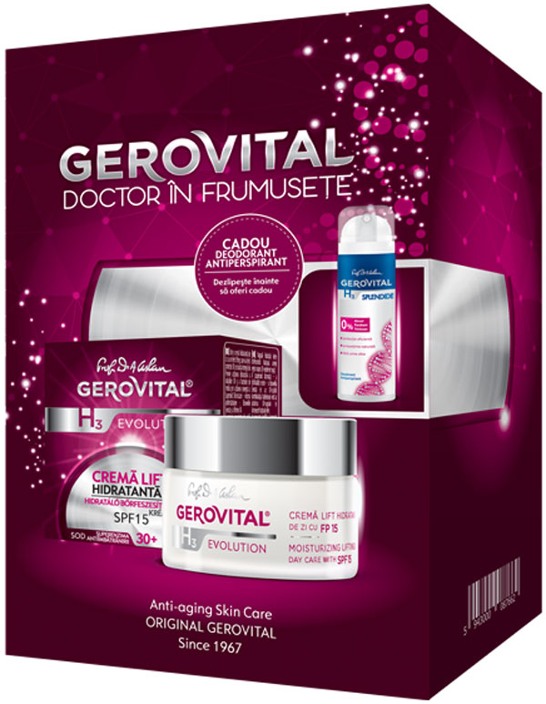 caseta gerovital h3 evolution