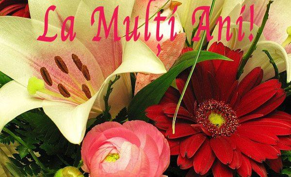 La multi ani si o felicitare de 8 martie!