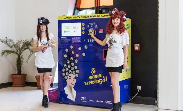 """Can Pack Recycling, Asociația Alucro şi Auchan România lansează campania """"Și mama reciclează!"""" în 20 de hypermarketuri din țară"""