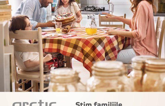 Știm familiile de români din interior – Arctic lansează o campanie manifest pentru familie