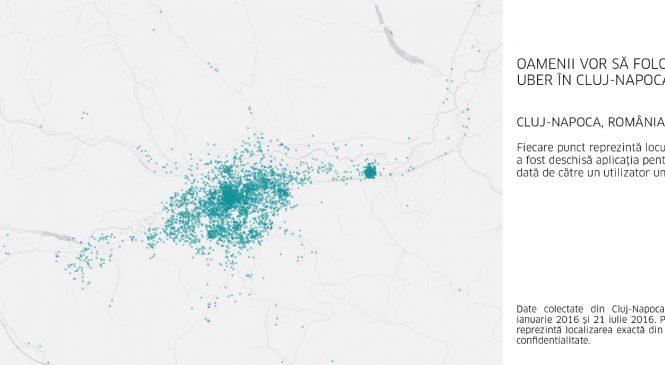 Cluj Napoca, Uber-ul tău ajunge în curând