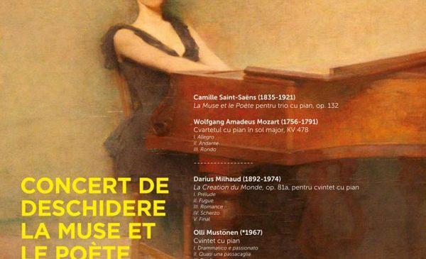 "Începe ""La Muse et le Poète"", cea de-a XI-a ediție a Festivalului SoNoRo"