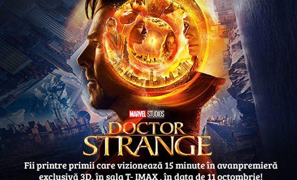"""Studiourile Marvel şi IMAX le oferă fanilor din toată lumea imagini exclusive din filmul cu cel mai nou super-erou – """"Doctor Strange"""""""