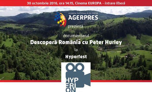 Descoperă România cu Peter Hurely la HyperFest