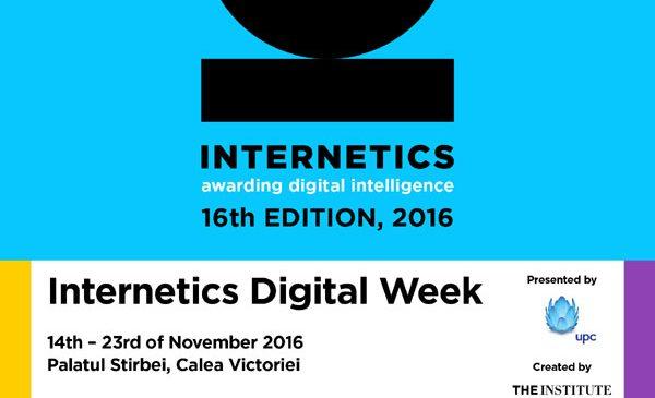 Program Internetics Digital Week 2016