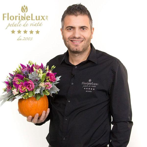 Marius Dosinescu, CEO și fondator FlorideLux