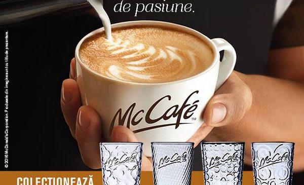 McDonald's lansează prima campanie națională de comunicare pentru lanțul de cafenele McCafé