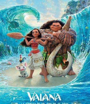 """Călătoreşte de-a lungul Pacificului alături de """"Vaiana"""", în cel mai nou film Disney"""