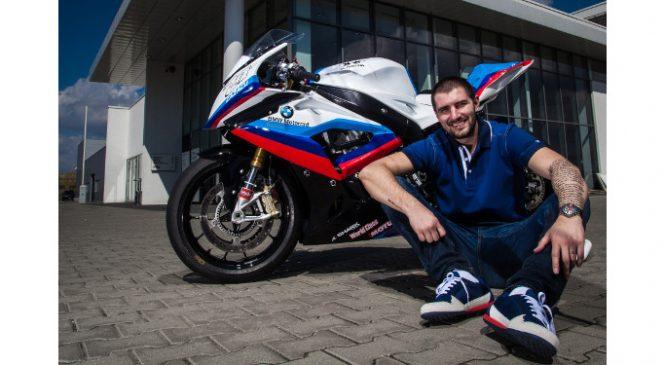 BMW Motorrad România continuă parteneriatul cu pilotul Cătălin Cazacu şi în sezonul competiţional 2017