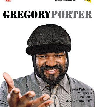 Gregory Porter, vocea jazz-ului mondial pentru prima dată în România, la Jazz Night Out