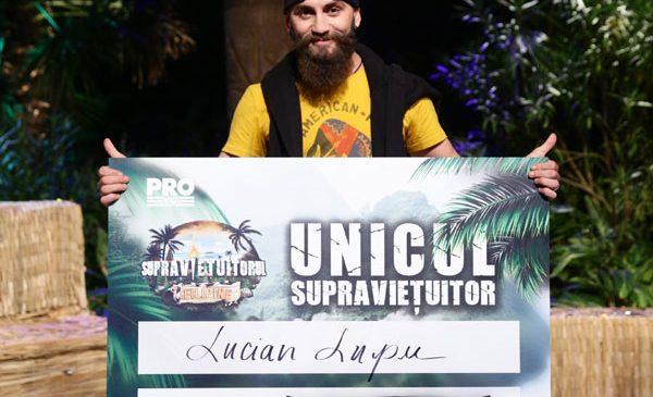 Lucian a câștigat Supraviețuitorul
