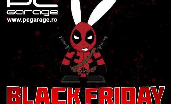 Black Friday de Gaming la PC Garage: sute de produse cu preț redus în weekend