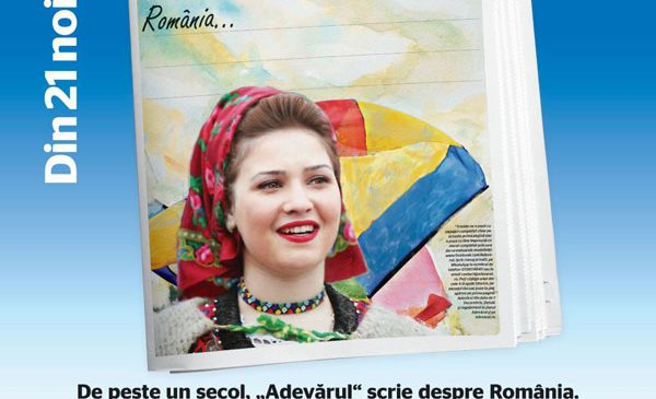 Din 21 noiembrie, ziarul Adevărul te îndeamnă să-i scrii României