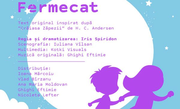 Copiii din București sunt invitați pe tărâmul din Globul Fermecat, primul spectacol apollo111 pentru cei mici