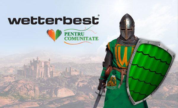 "Wetterbest a lansat Asociația ""Wetterbest pentru Comunitate"""