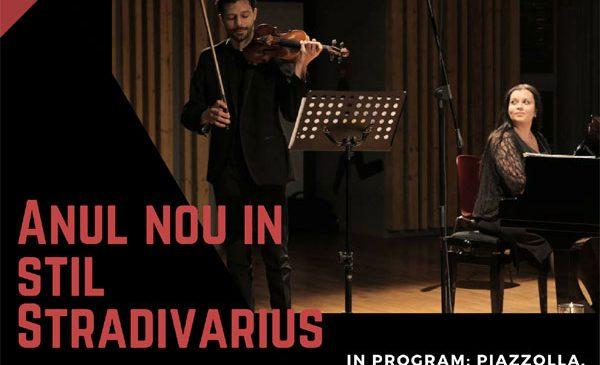 """Concert Extraordinar de Anul Nou """"Anul Nou in stil STRADIVARIUS"""" cu Răzvan Stoica și Andreea Stoica"""