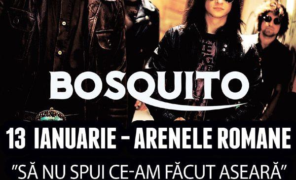 Bosquito la Arenele Romane: Program, reguli de acces si doua trupe noi invitate