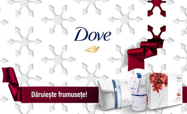 Descoperă seturile cadou Dove și dăruiește frumusețe