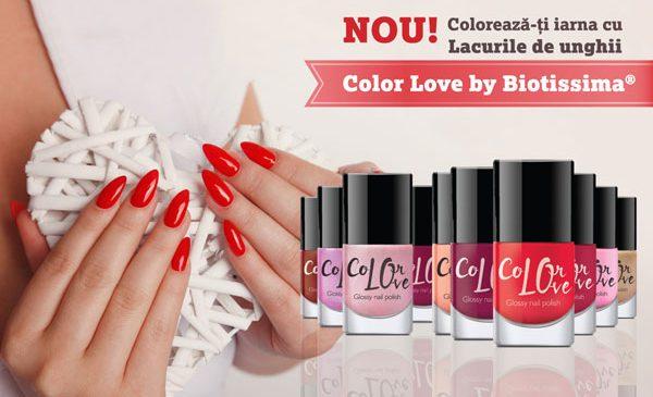 Life Care lansează Color Love by Biotissima, prima gama de lacuri de unghii din portofoliu