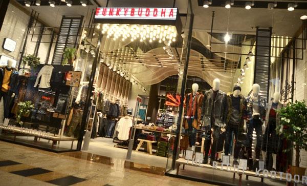Funky Buddha lansează primul magazin din România în Băneasa Shopping City