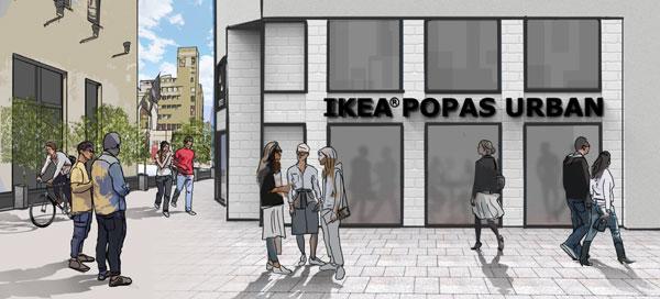 IKEA® POPAS URBAN, o pauză pentru inspirație în centrul orașului